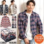 """チェックシャツ メンズ""""VICCI【ビッチ】チェックネルシャツ/全18色""""長袖 ネルシャツ カジュアルシャツ mtc"""