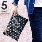 ショッピングスタッズ クラッチバッグ メンズ スタッズ スター 星 ブラック 迷彩柄 カモフラ ブルー おしゃれ カジュアル 鞄 かばん クラッチバック