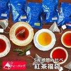 [5 origins] 5つの産地 飲み比べ 紅茶福袋 たっぷり50ティーバッグ入り!