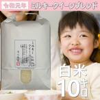 お米 10kg 白米 うるち米 令和元年産ミルキークイーン50%ブレンド