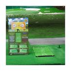 ゴルフマット 練習 ヘッドが触れると色が変わり、ダフリ 軌道がわかる ゴルフ マット 練習場でフルショット、自宅でアプローチ。賢いマット ダウンブロ