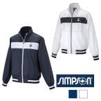 シンプソン (Simpson) STW-61500 テニスウェア メンズ レディース 兼用 ウォームアップ ジャケット