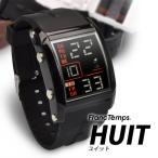 腕時計 メンズ ブランド スポーツ フランテンプス ユイット カジュアル デジタル アウトドア HUIT  FrancTemps