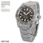 ショッピング自動巻き VAGUE WATCH Co. GRY FAD グレーフェイド GF-L-001 ヴァーグウォッチ 日本製自動巻きムーブメント ミリタリー 腕時計