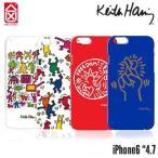 iPhone ケース iPhone6 ケース  キースヘリング ケースシナリオ ハードケース  4.7inc Keith Haring メール便OK