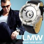 新開発したシルバーに輝く液体の針!最新型腕時計