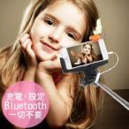 セルカ棒 自撮り棒 じどり棒 ハロウィン iPhone シャッター MONOPOD モノポッド スマホ セルフィースティック おもしろ雑貨