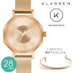 KLASSE14 クラス14 腕時計 volare レディース 2年保証  OKTO 28mm IL BRACIALE ブレスレット付き OK17RG002S クラスフォーティーン バングル
