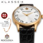 正規販売店 klasse14 レディース メンズ 2年保証 KLASSE14 クラス14 腕時計 BENCIVENGA UNICO GOLD ゴールド腕時計 UN15RG001M