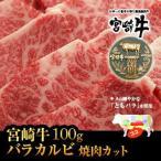 牛肉 焼肉 宮崎牛 上カルビ ・ バラ 焼肉 カット 100g 宮崎牛 ともバラ 国産 宮崎県産 バーベキュー BBQ