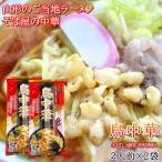 1000円ポッキリ 送料無料 ラーメン お取り寄せ 鳥中華 2袋(4人前) 山形の醤油ラーメン
