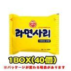 『オトギ(オットギ)』ラーメンサリ(■BOX 40入) <韓国ラーメン・鍋(チゲ)用材料>