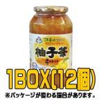 『アシ』蜂蜜柚子茶(ゆず茶) 1kg(■BOX 12入) <韓国伝統茶・韓国健康茶>