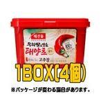 『ヘチャンドル』コチュジャン 3kg(■BOX 4入) <韓国調味料・韓国味噌・韓国みそ>
