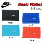 【メール便選択で送料無料】NIKE / ナイキ Basic Wallet(ベーシックウォレット) / NS1002【財布】【三つ折り】