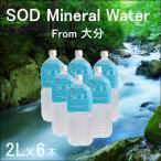 ナチュラルウォーター 2L 【6本セット】 SOD 水