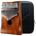 MOOZICA17音カリンバ,親指ピアノKalimba17音の指ピアノ,高...