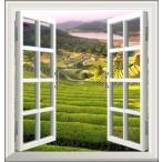 ウォールステッカー オーダーメイド 窓 ウィンドーシリーズ防水 ( 縦長 ) 防水 シール はがせる 壁紙