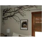 ウォールステッカー 転写式 ワイルドツリー  枝 木シール 北欧  はがせる 壁紙 壁シール