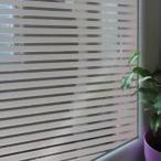 [のり不要](ボーダー・ストライプ(太)) ws-2015 ステンドグラス風ガラスフィルム1メートル幅2種類 窓飾りシート ウィンドウフィルムシール 北欧はがせる