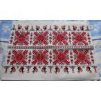 ベレグ刺繍職人のクッションカバー ハンガリー刺繍