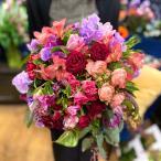 ラウンドブーケL お祝い 誕生日 花 フラワー ギフト プレゼント 敬老の日 開店祝い 送料無料