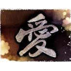 オーダー漢字ワッペン「6cm」【メール便の場合送料無料】【アイロン接着】【文字】【名前】【刺繍】
