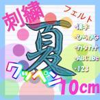 10cm 24色×24色  (フェルト)刺繍ワッペン