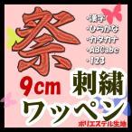 9cm 24色×24色 (ポリエステル)刺繍ワッペン