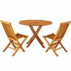 代引不可 3点セット テーブル・チェア2脚 ダイニングテーブル 天然木 木製 ガーデニング バルコニー 庭 アウトドア おしゃれ テラス