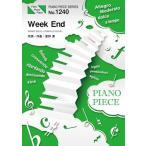 (楽譜)Week End/星野源 (ピアノソロピース&ピアノ弾き語りピース PP1240)
