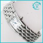 電池交換済 ショーメ 腕時計 ケイシス レディース SS クオーツ CHAUMET 送料無料