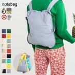 notabag(ノットアバッグ) バッグ&バックパック(折りたたみエコバッグ/リュックサック)