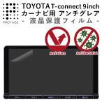 TOYOTA T-Connect 9inch 専用 アンチグレア フィルム 反射防止 液晶 保護フィルム トヨタ Tコネクト 9型 純正ナビ NSZT-Y64T / DSZT-YC4T , NSZT-Y66T 対応
