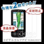 ゴルフナビ ユピテル YGN6200 用 フィルム 反射防止 防気泡 防指紋 加工 保護フィルム ショットナビ golf navi 日本製