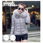 中綿ダウンコート レディース 40代 ショート 軽い 2021 秋冬 アウター 中綿コート 中綿ジャケット ダウン風コート フード付き 厚手 暖かい 大きいサイズ スリム
