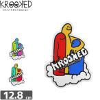 クルックド KROOKED スケボー ステッカー CLOUD CROWD STICKER 3タイプ NO26