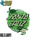 ショッピングサンタ スケボー ステッカー サンタクルーズ SANTACRUZ KELP DOT 17cm x 14.2cm NO60