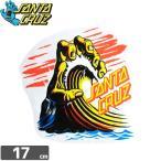 サンタクルーズ SANTACRUZ スケボー ステッカー Wave Hand 16.6cm x 15.8cm No62