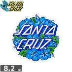 サンタクルーズ SANTACRUZ ステッカー HIBISCUS DOT 8cm x 8.2cm NO64
