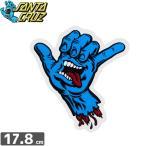 スケボー ステッカー サンタクルーズ SANTACRUZ SHAKA HAND STICKER 17.8cm x 15.5cm No75