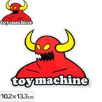 トイマシーン TOY MACHINE ステッカー MONSTER M 13.3x10.2cm NO29