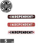 インディペンデント INDEPENDENT スケボー ステッカー BAR STICKER 3色 1cm x 5cm NO71
