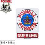 パウエル POWELL スケボー ステッカー SUPREME OG STICKER 8.9cm×6.8cm NO36