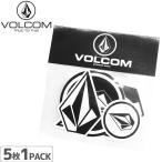 ボルコム VOLCOM ステッカー STICKER PACK 5枚入り NO01