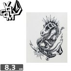 ボルコム VOLCOM ステッカー STICKER 8.3cm x 6.6cm NO187