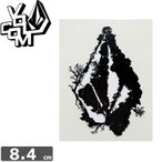 ボルコム VOLCOM ステッカー STICKER 8.4cm x 6.5cm NO269