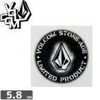 ボルコム VOLCOM ステッカー STICKER 5.8cm x 5.8cm NO272