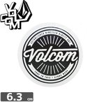ボルコム VOLCOM ステッカー STICKER 6.3cm x 6.3cm NO282
