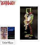 スケボー ステッカー ブランド デスウィッシュ DEATHWISH SUMMER 19 ONE OFF STICKERS 3タイプ 7.4cm×15cm NO140